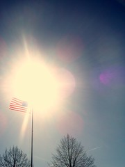 Flag and Sunshine 5