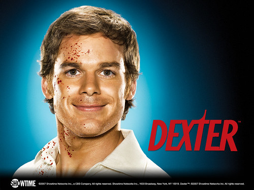 Michael C. Hall as Dexter, the Showtime show that is helping kill HBO