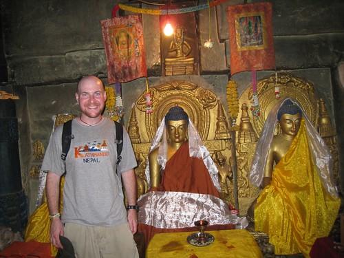 Really, really old Buddhas at Mahabodhi Temple