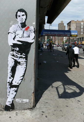 Bruce Springsteen in un Murales a New York