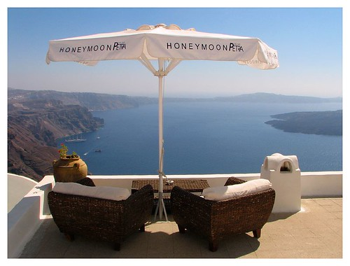Honeymoon umbrella by you.