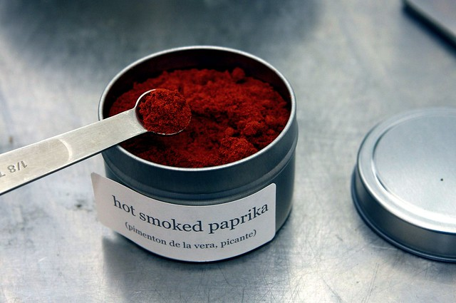 hot smoky paprika
