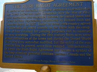 The Rush-Bagot Agreement