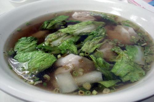 [吃] 小上海【蔡師傅】(5)_鮮蝦餛飩湯