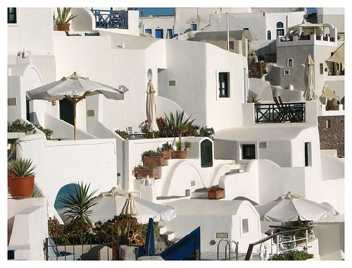 Houses in Santorini by you.