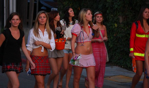SDSU Sorority Girls in slutty Halloween costumes