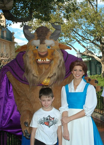 T with Belle & the Beast