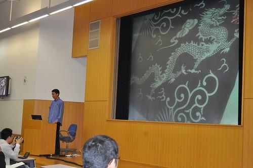Kosuke_san presented about Jenkins