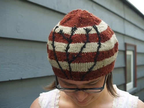 back alley hat aka the knapweed hat