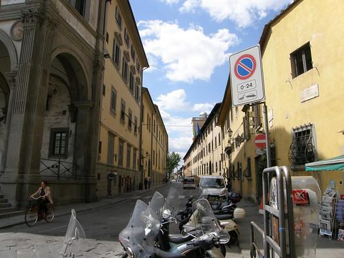 Firenze, via Cesare Battisti