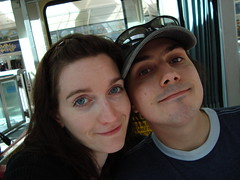 Mo and Ray on the Seattle Monorail
