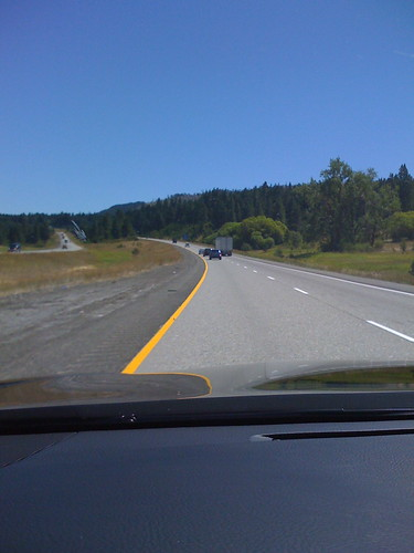 Driving across Washington