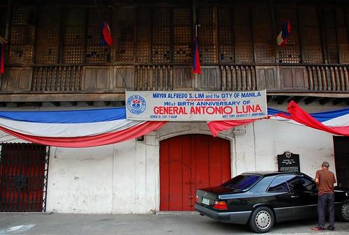 San Nicolas Binondo Anonio Luna House