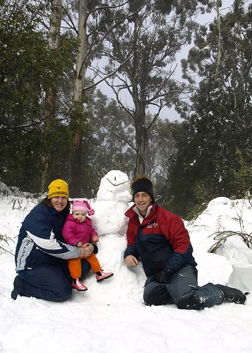Family Photo (including snowman)