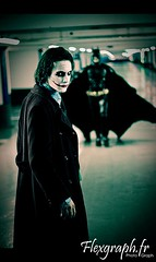 Cosplay Batman & Joker - The Dark Knight