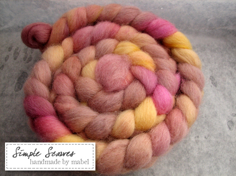 Corriedale in Praline Candy
