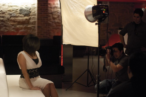 Me Shooting Priscilla at the Keating Hotel in San Diego