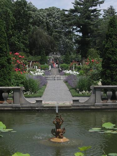 Fountain in Walled Garden
