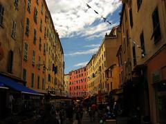 Ajaccio Old Town Life