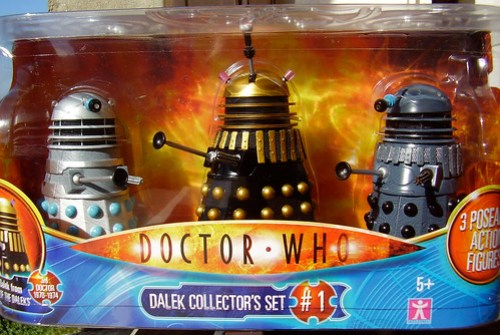 DALEK COLLECTOR'S SET