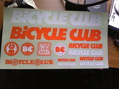多摩サイにバイシクルクラブのアンケートがいた