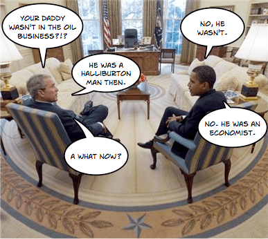 Obama visits the Oval Office