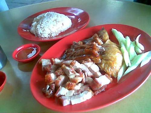 Chopsticks' roast meat platter 1