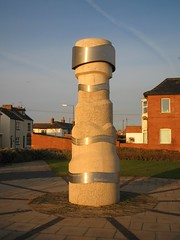 Touchstone sculpture, Redcar
