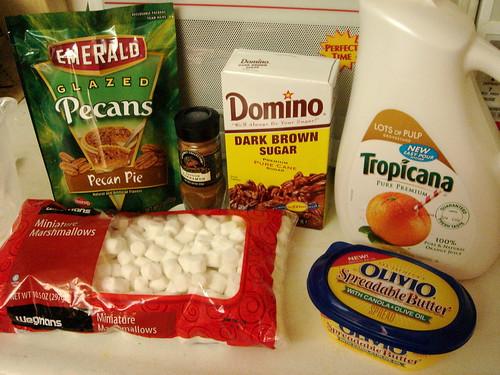 Baking Sweet Potato Casserole - 1