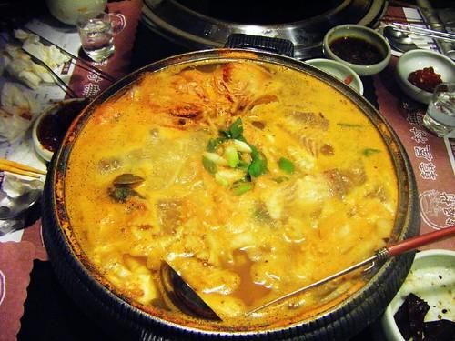 超濃郁海鮮湯!