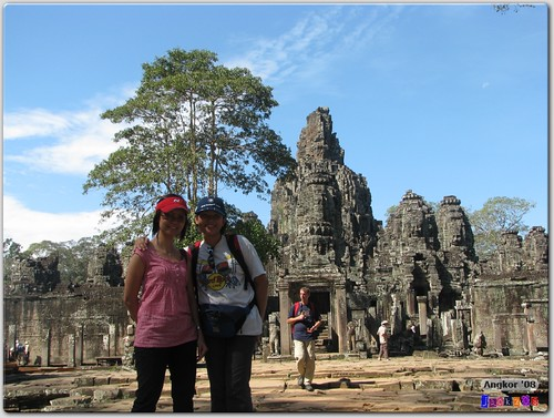 chengyee & cmun in front of the Bayon