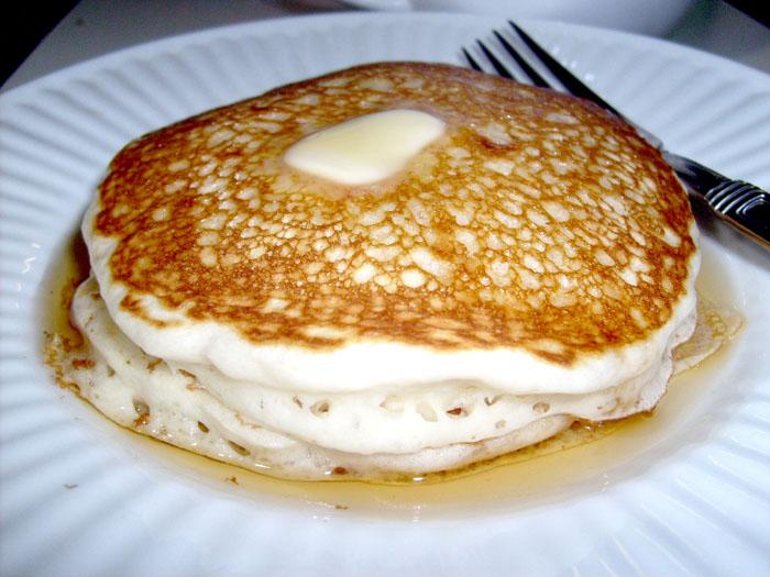 Yummy pancakes...