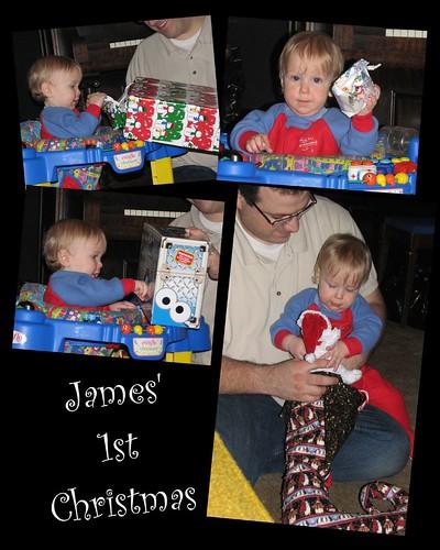 James' 1st Christmas