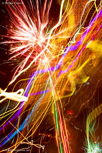 A photo of New Year fireworks