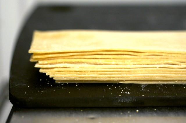 fresh pasta sheets