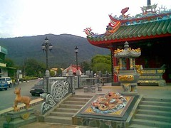 Lundu Chinese temple