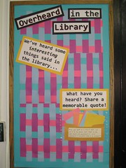 Overheard in the Library - Before