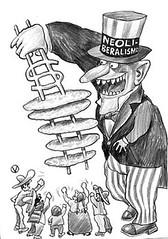 Neoliberalismo por dictaduras militares