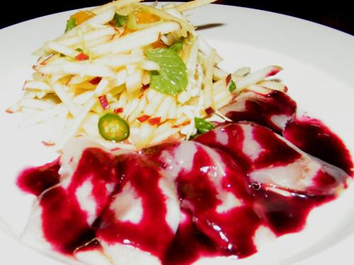 Red Fish Crudo at Animal by MyLastBite.com