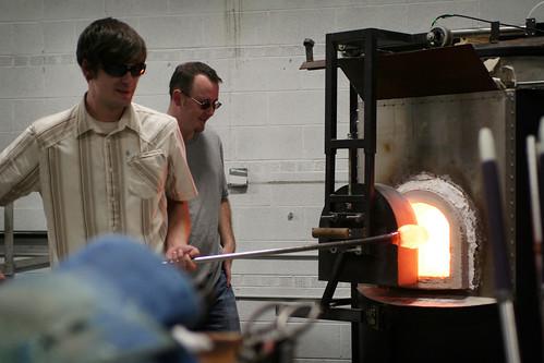 Glassblowing at Talisman Glass