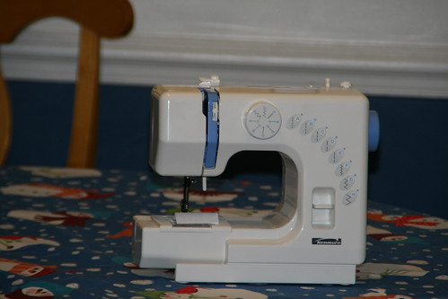 "Meet ""Sissy"" my new Sewing Machine!"