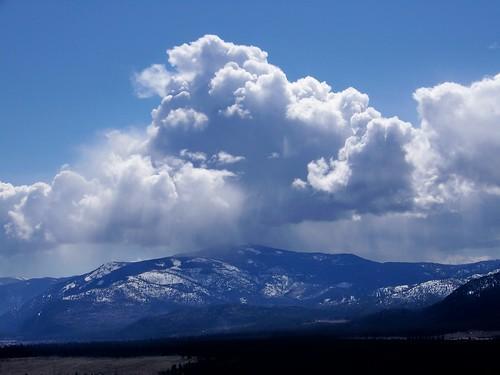March clouds