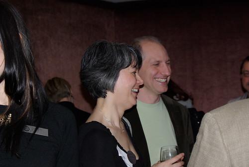 Meg Tilly & Don Calame