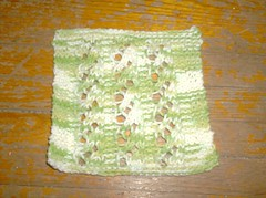 Lacy Waterfall Dishcloth