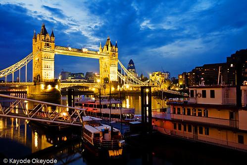 Tower Bridge and Wharf