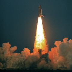 Success Inspiration - Shuttle Endeavour Blastoff