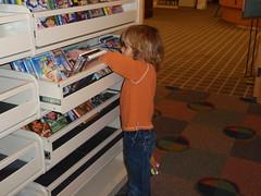 Jake chooses DVD's