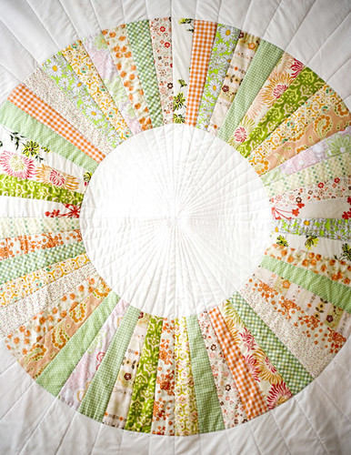 Colorful Crafting with Jen:  Wedding Wheel Quilt