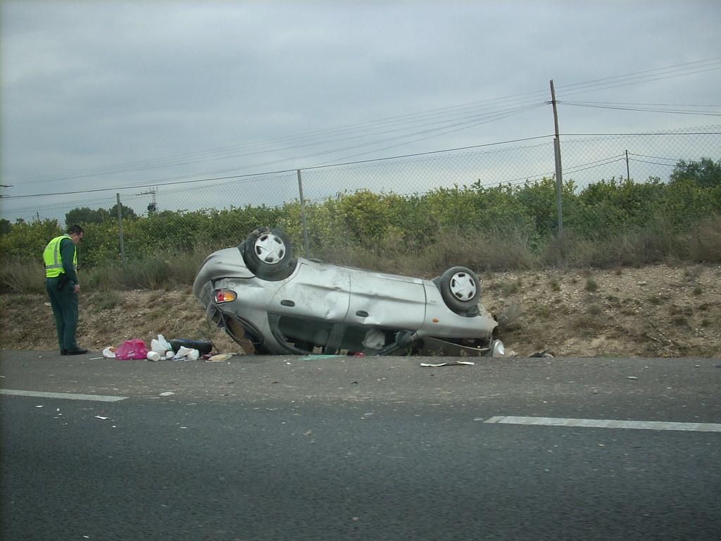 La prisa mata (accidente durante el viaje)