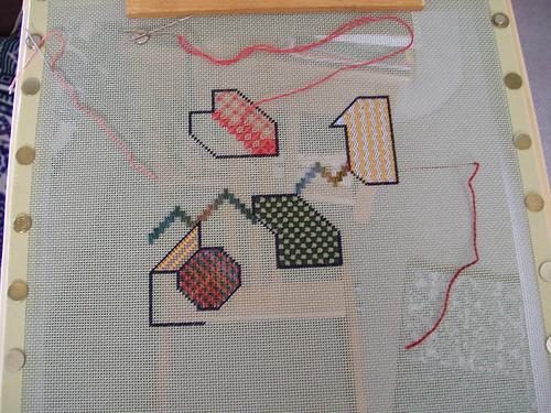 Doodle Needlepoint 1